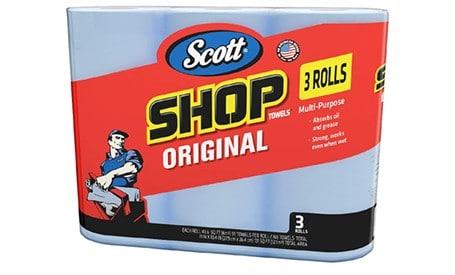 Scott Blue Disposable Towels