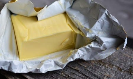 A bag of food, with Butter