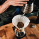 basket coffee filter in cone style coffee maker