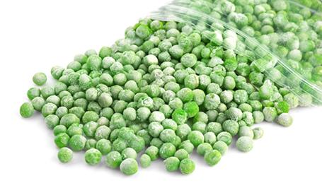 A close up of a piece of broccoli