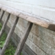 weathered outdoor ladder