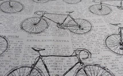 newspaper bikes